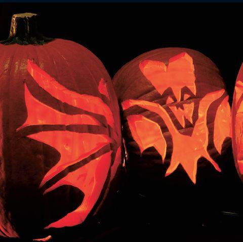 going bats pumpkin