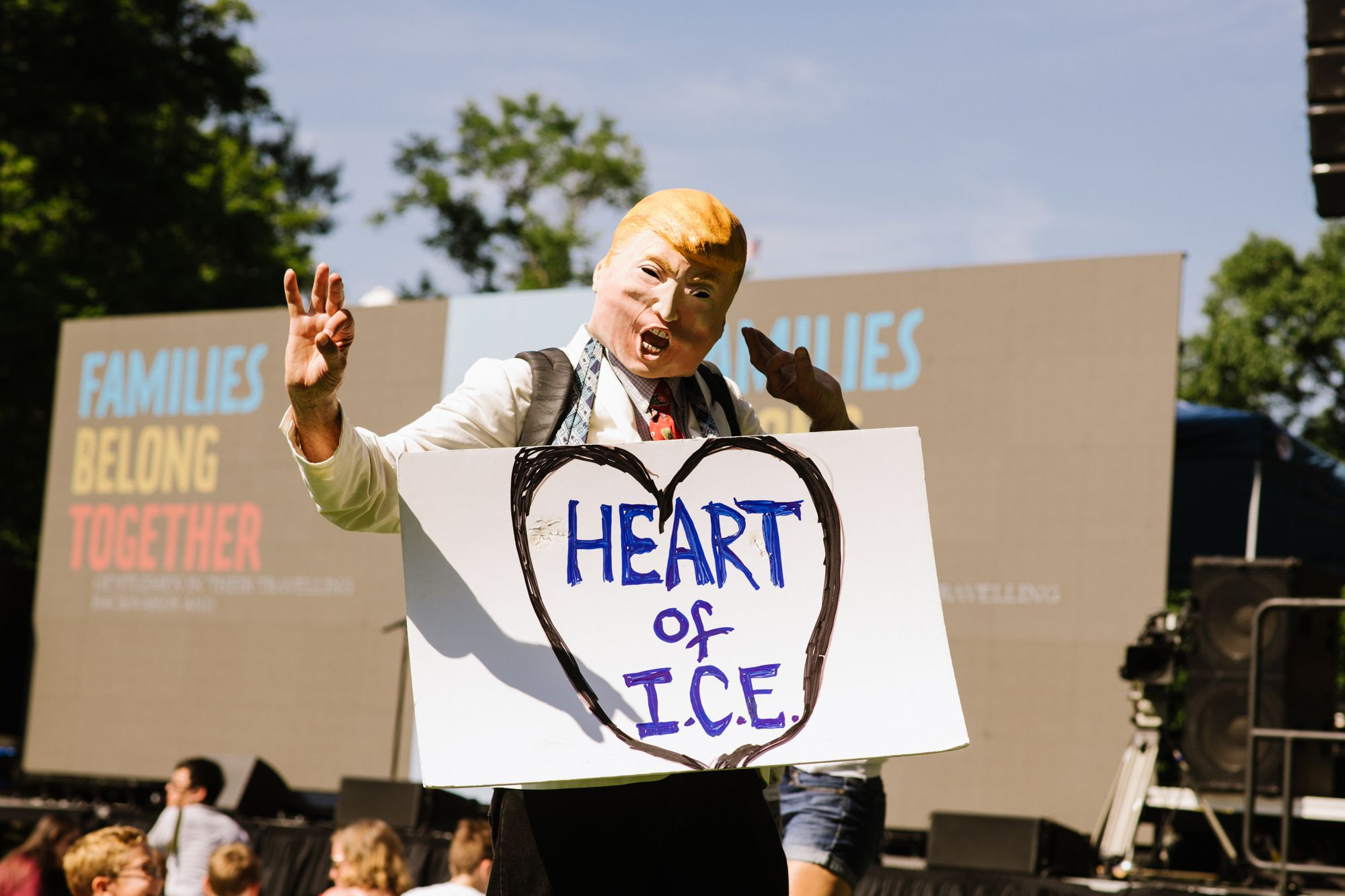 Kate Warren Families Belong Together March Protest Immigration Best Images