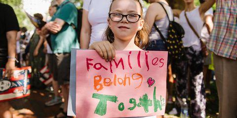 Kate Warren Families Belong Together March Protest Immigration Best Images