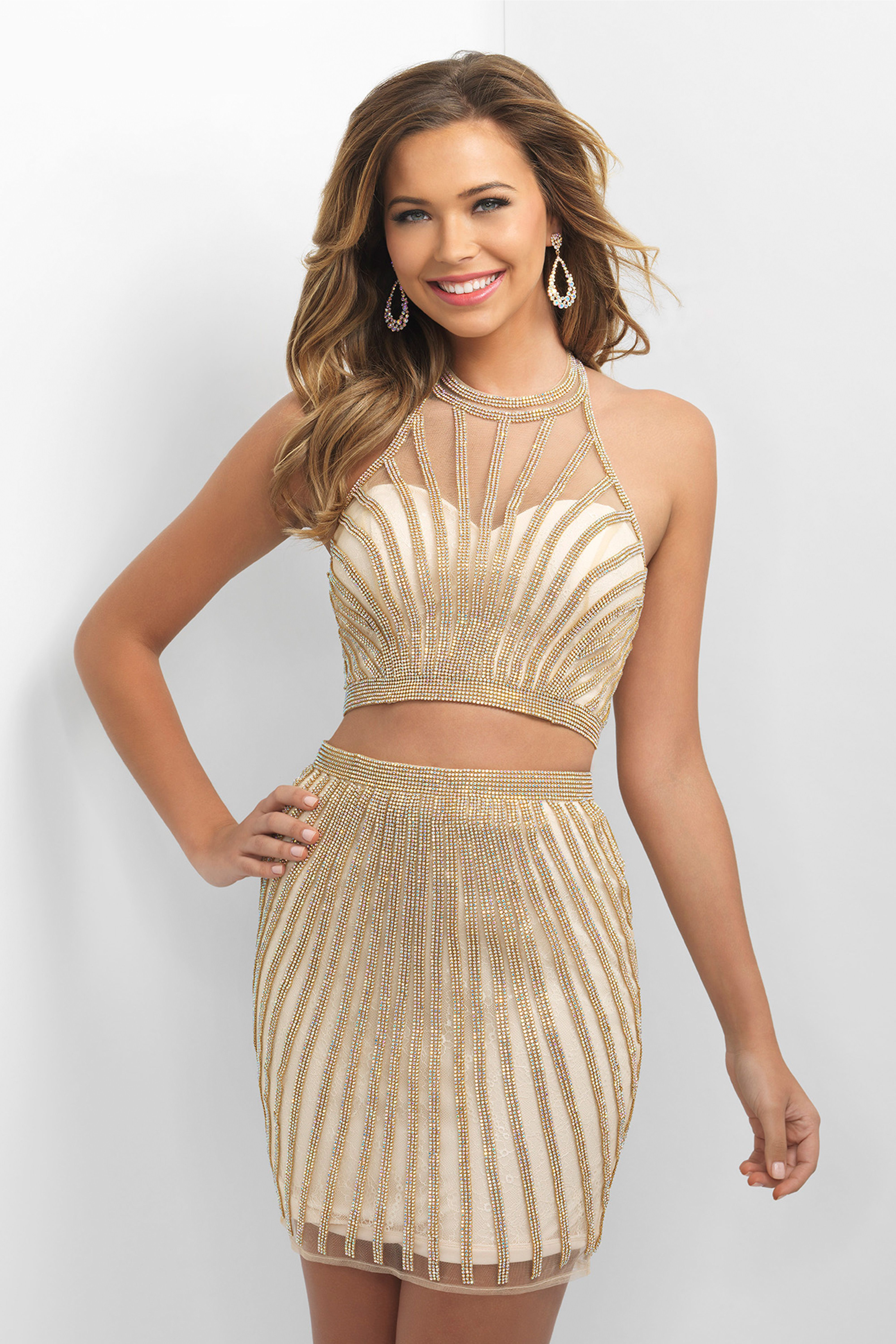 17 Best Gold, Silver and Metallic Prom Dresses 2018 - Cute Gold Gowns