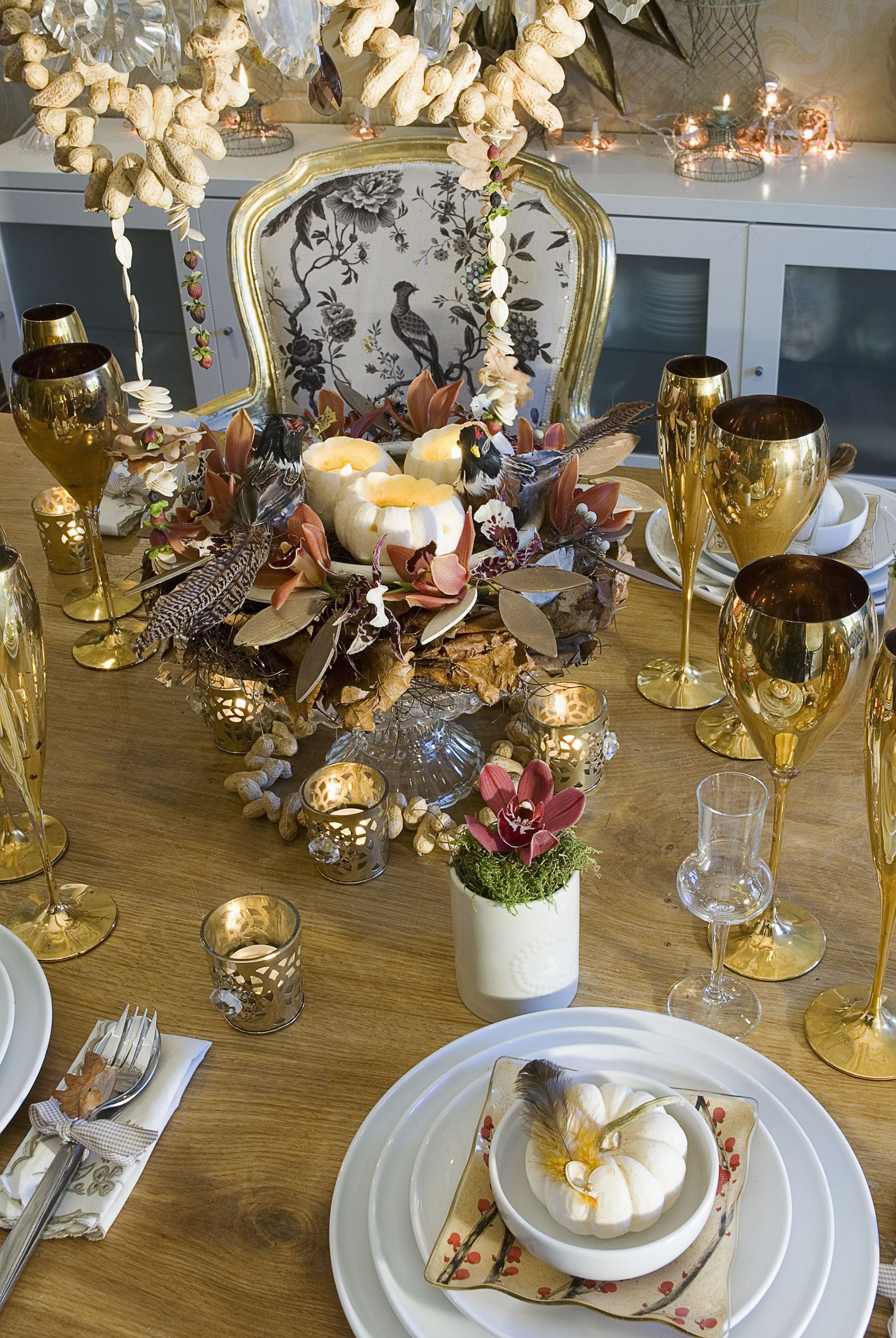 Thanksgiving table & 16 Best Thanksgiving Table Decor Ideas - Beautiful Thanksgiving ...
