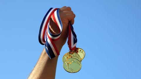 Gouden medailles Olympische Spelen gewicht karaat