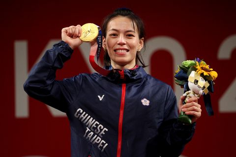 2021東京奧運台灣中華隊金牌59公斤舉重郭婞淳