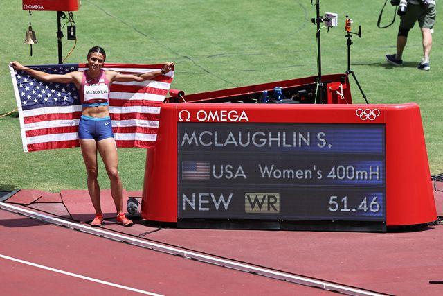 sidney mclaughlin, campeona olímpica de 400m vallas