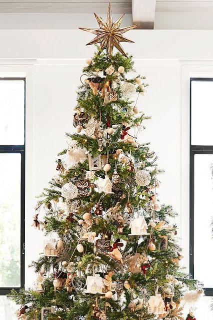 Mirrored Star Christmas TreeTopper