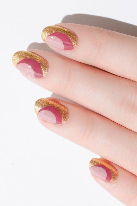 Nail polish, Nail, Nail care, Manicure, Pink, Finger, Cosmetics, Skin, Peach, Hand,