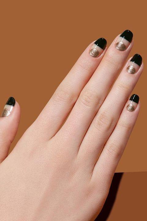 Nail, Manicure, Finger, Nail polish, Nail care, Cosmetics, Hand, Service, Material property, Gloss,