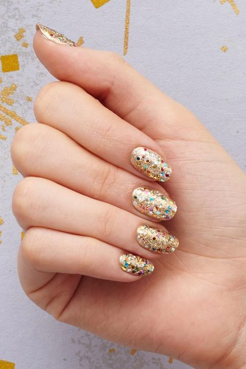 image - 9 Best Gold Nail Polishes Of 2018 - Metallic Gold Nail Art Design Ideas