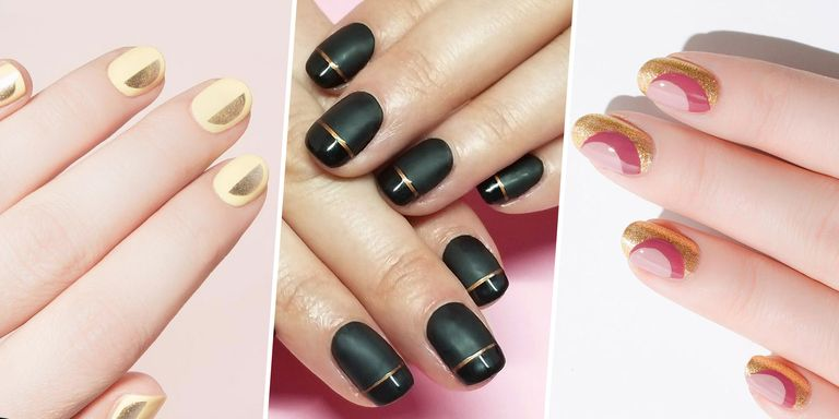 9 Best Gold Nail Polishes 2018 Metallic Gold Nail Art