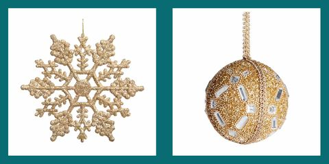 Christmas ornament, Ornament, Jewellery, Fashion accessory, Diamond, Interior design, Gold, Holiday ornament, Christmas decoration,