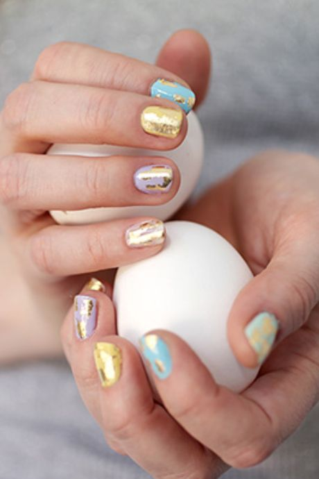 10 Cute Easter Nail Designs 2018 - Easy Nail Polish Art Ideas for Easter