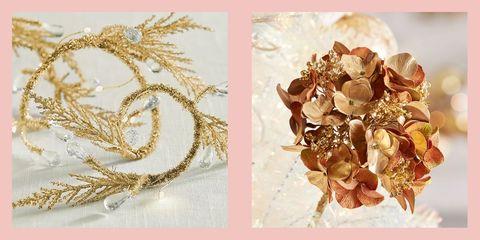 best gold christmas tree ideas