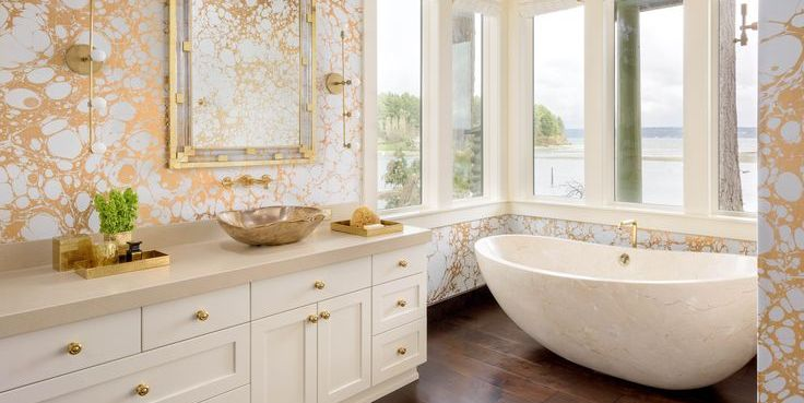 15 Chic Gold Wallpapers Best Ideas For Metallic Gold