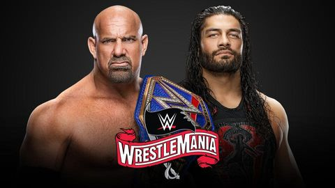 WrestleMania 36: Goldberg vs Roman Reigns