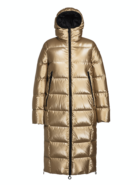 oriel coat gold goldbergh
