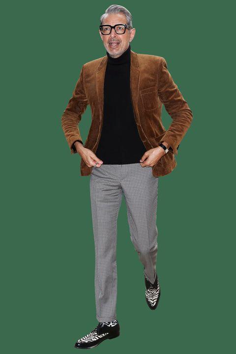 Jeff Goldblum's Corduroy Blazer Is Fall Style, Perfected