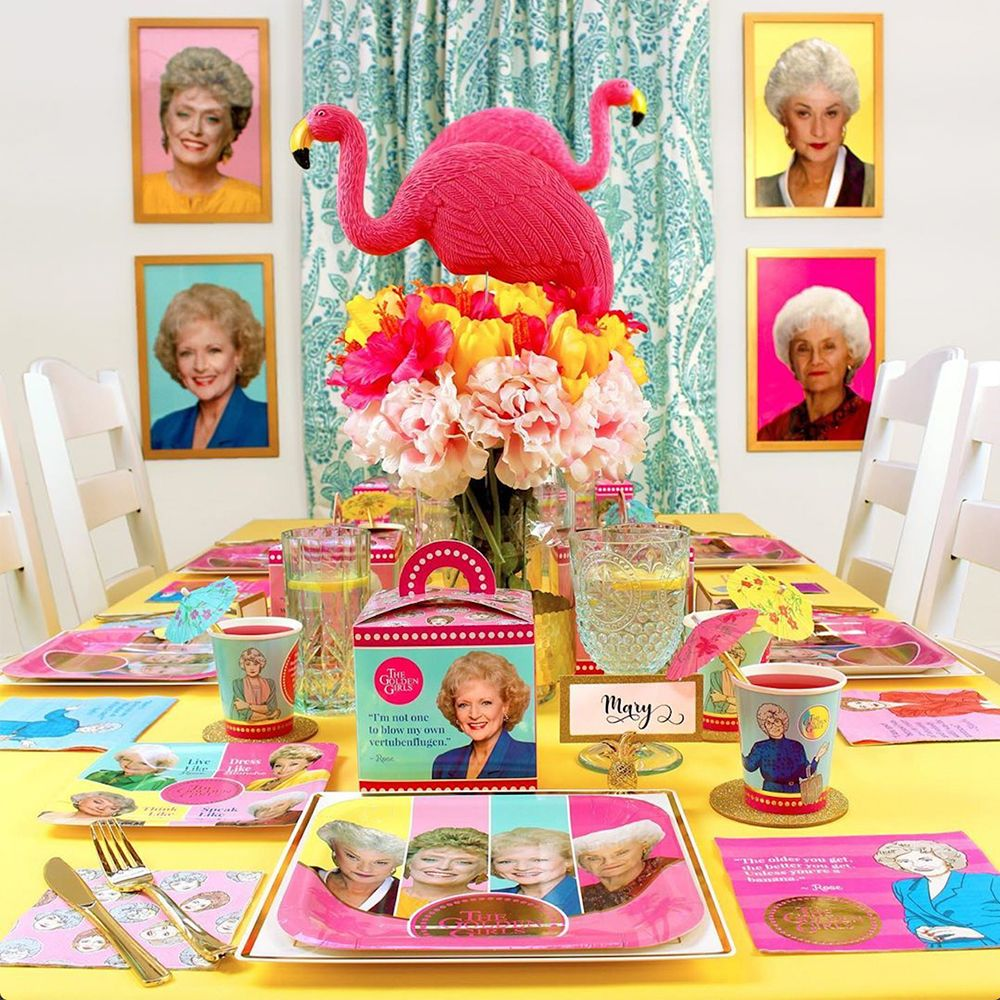 This 'Golden Girls' Birthday Kit Has Everything You Need to Party Like You're in St. Olaf