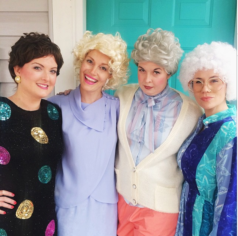 golden girls best friends costumes