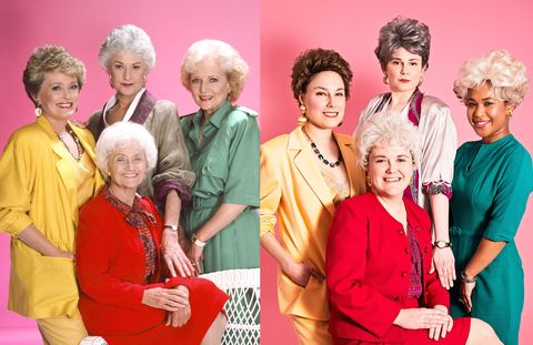 aedaef4d100c 4 Cosmo Editors Dress as Golden Girls and Learn They're Old Ladies at Heart