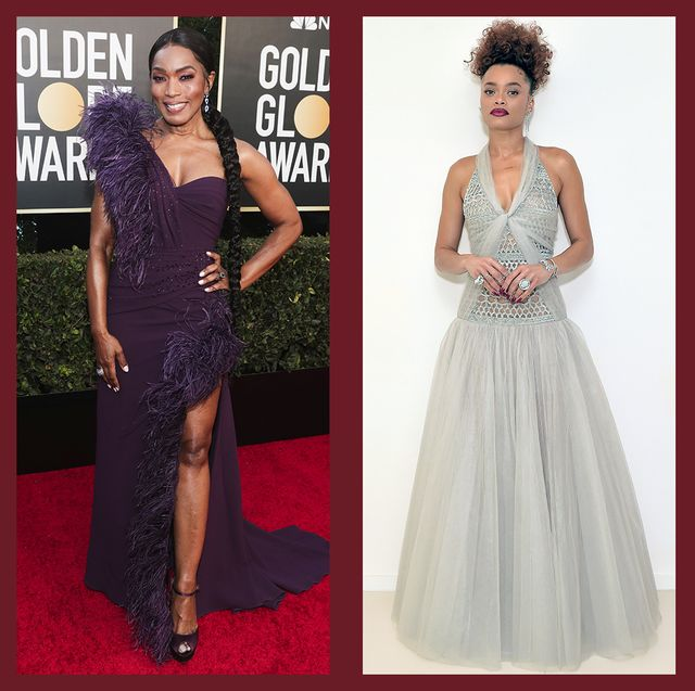 best dresses and gowns from 2021 golden globe awards