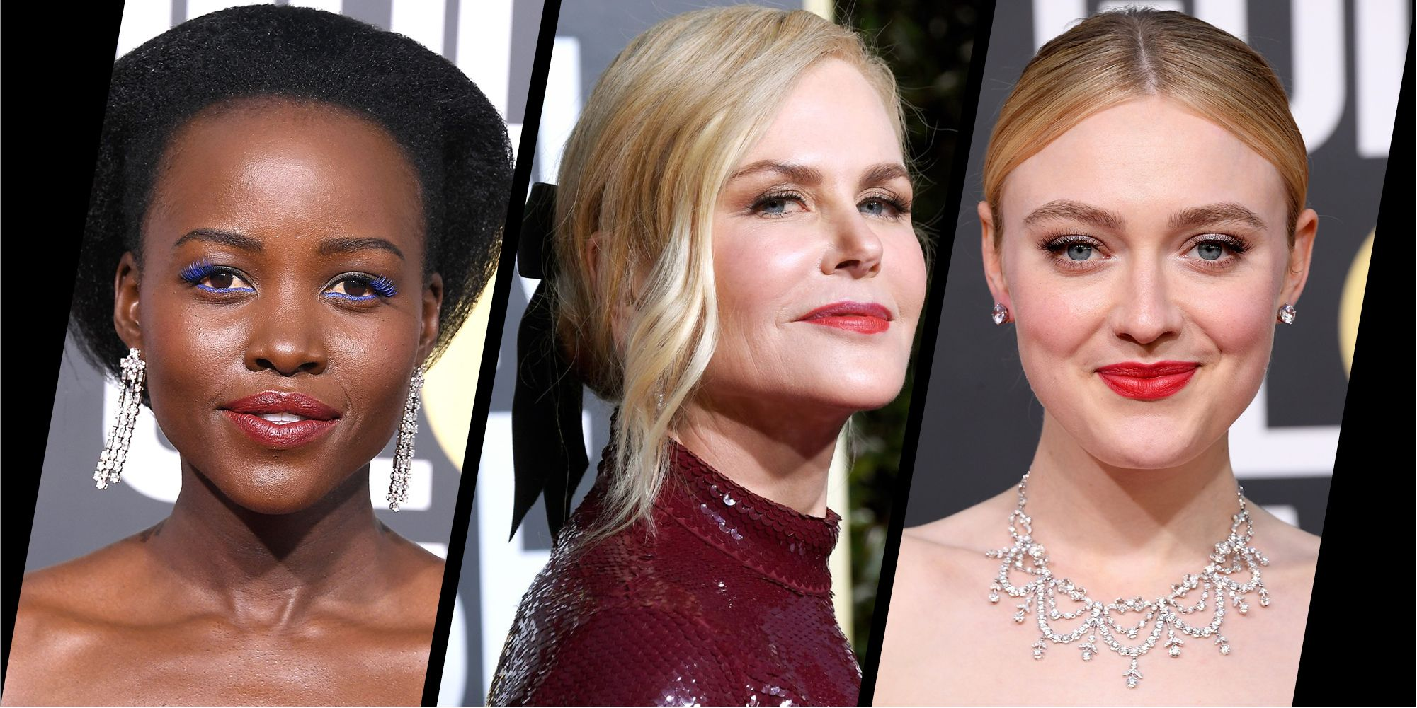 15 stunning beauty looks from the Golden Globes 2019