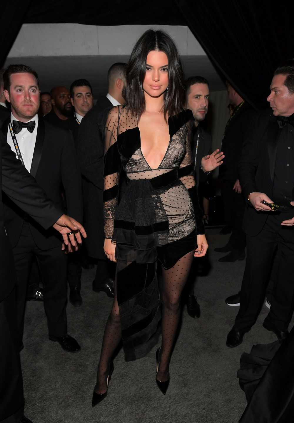 Golden Globes after party - kendall jenner