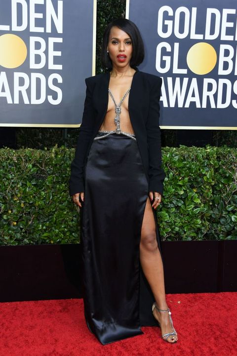 Golden Globes Red Carpet Dresses 2020 - Kerry Washington