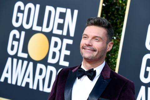 Ryan Seacrest Gets Attacked Online for Wearing 'Times Up' Bracelet at 2019 Golden Globes