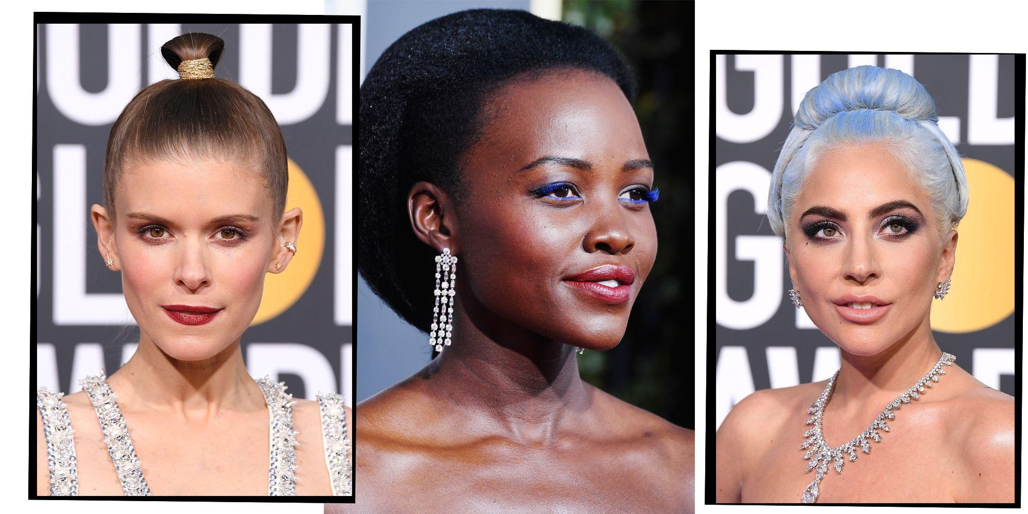 Golden Globes 2019 Best Hair And Makeup