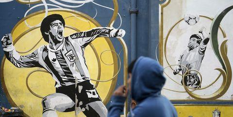 La mano de dios de Maradona