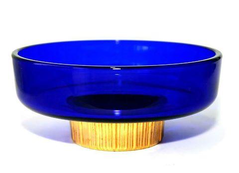 Cobalt blue, Blue, Product, Electric blue, Bowl, Glass, Plastic,