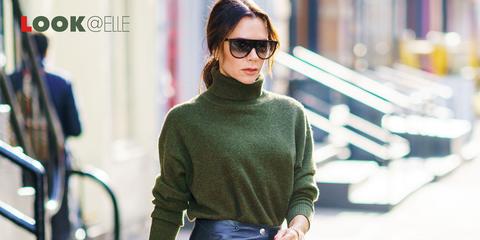 Gonna animalier moda 2019 Victoria Beckham