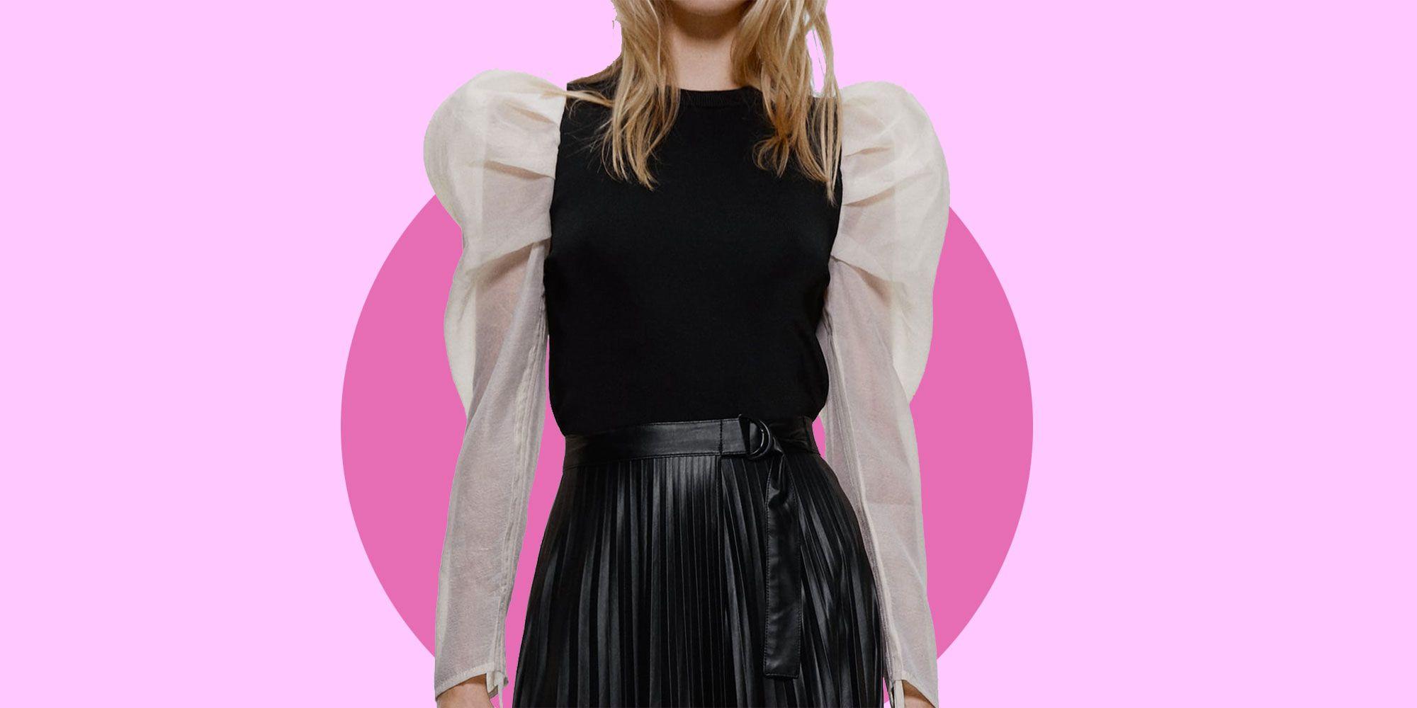 Gonna di pelle = moda inverno 2019, 5 modelli Zara da avere