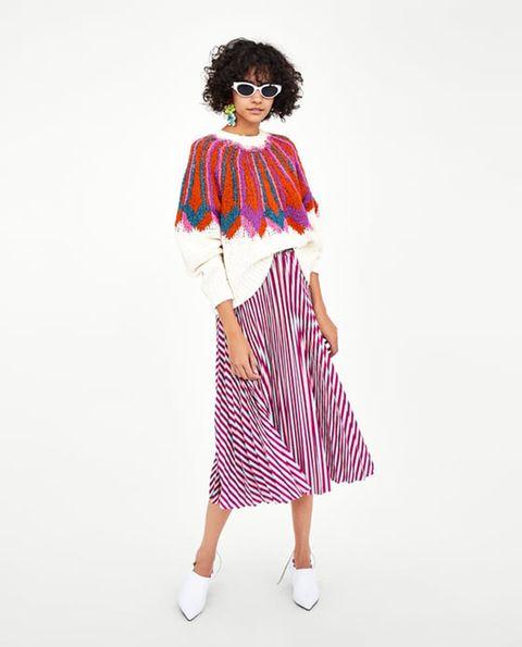2fa5d265f2 La gonna di Zara da 30 euro che sembra di Gucci è una grande gioia ...