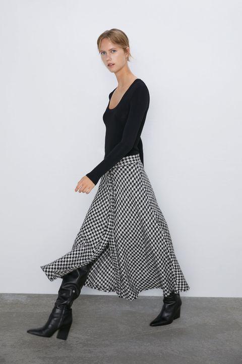 separation shoes 62fbf 10451 Gonna autunno 2019, quella lunga di Zara per i colori moda fluo
