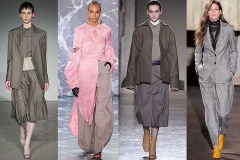 foto ufficiali fd7a6 e56d9 Le gonne e i pantaloni moda Autunno Inverno 2018-2019