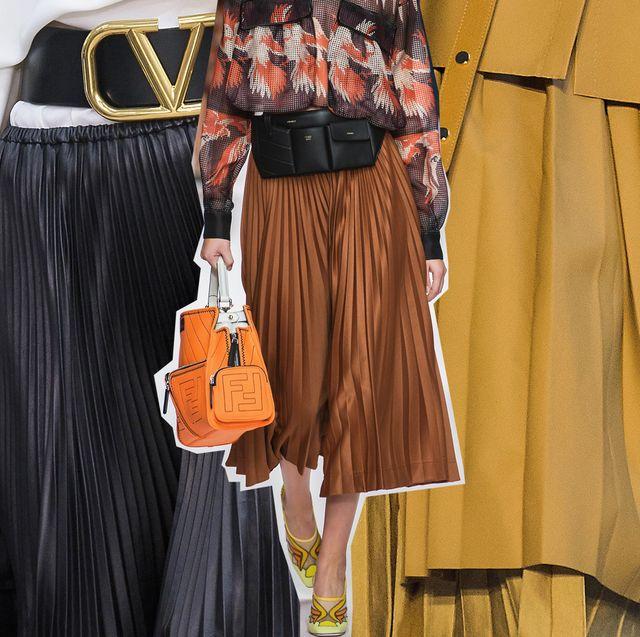 foto ufficiali 19b35 bee6e Gonna moda 2019: i modelli di gonne plissettate moda ...