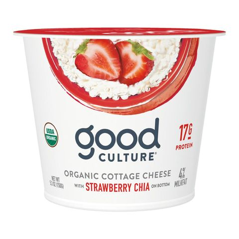 Good Culture Organic Cottage Cheese with Strawberry Chia