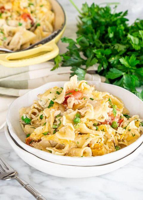 good friday meals tuna noodle