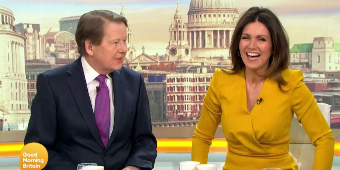 Good Morning Britain reunites former BBC Breakfast hosts Susanna Reid and Bill Turnbull