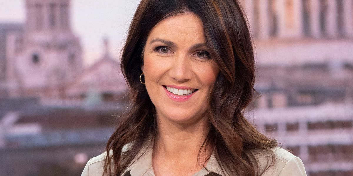 GMB's Susanna Reid rejects hug from co-star Adil Ray