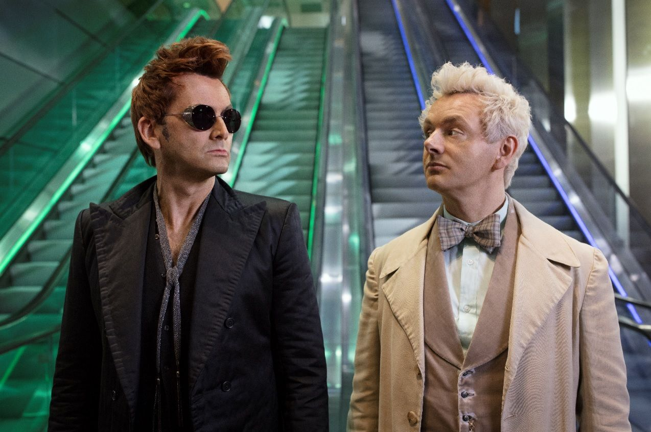 """Good Omens author says petition to cancel the show was """"the best thing"""""""