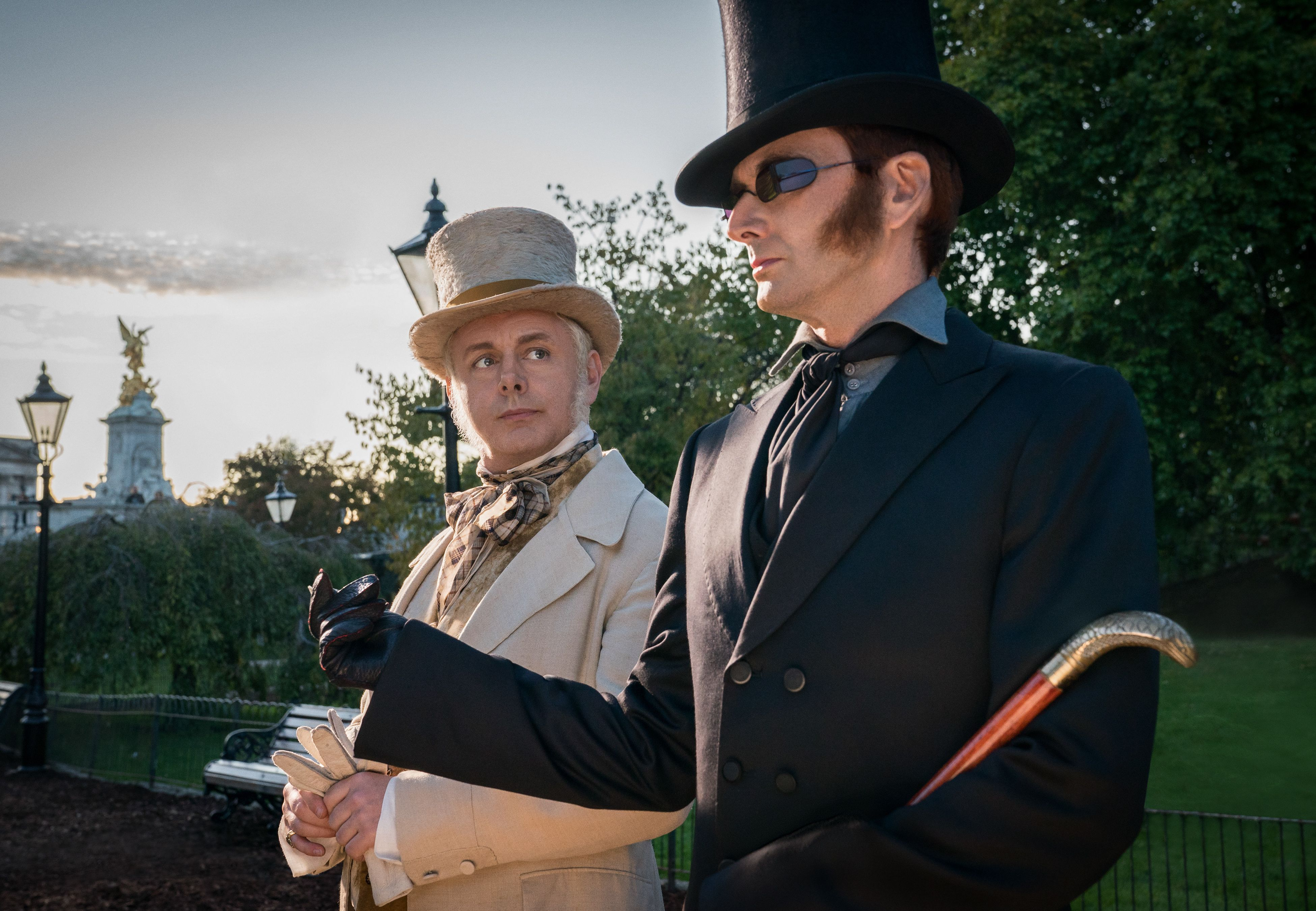 Exclusive: Good Omens' Michael Sheen talks chemistry with David Tennant