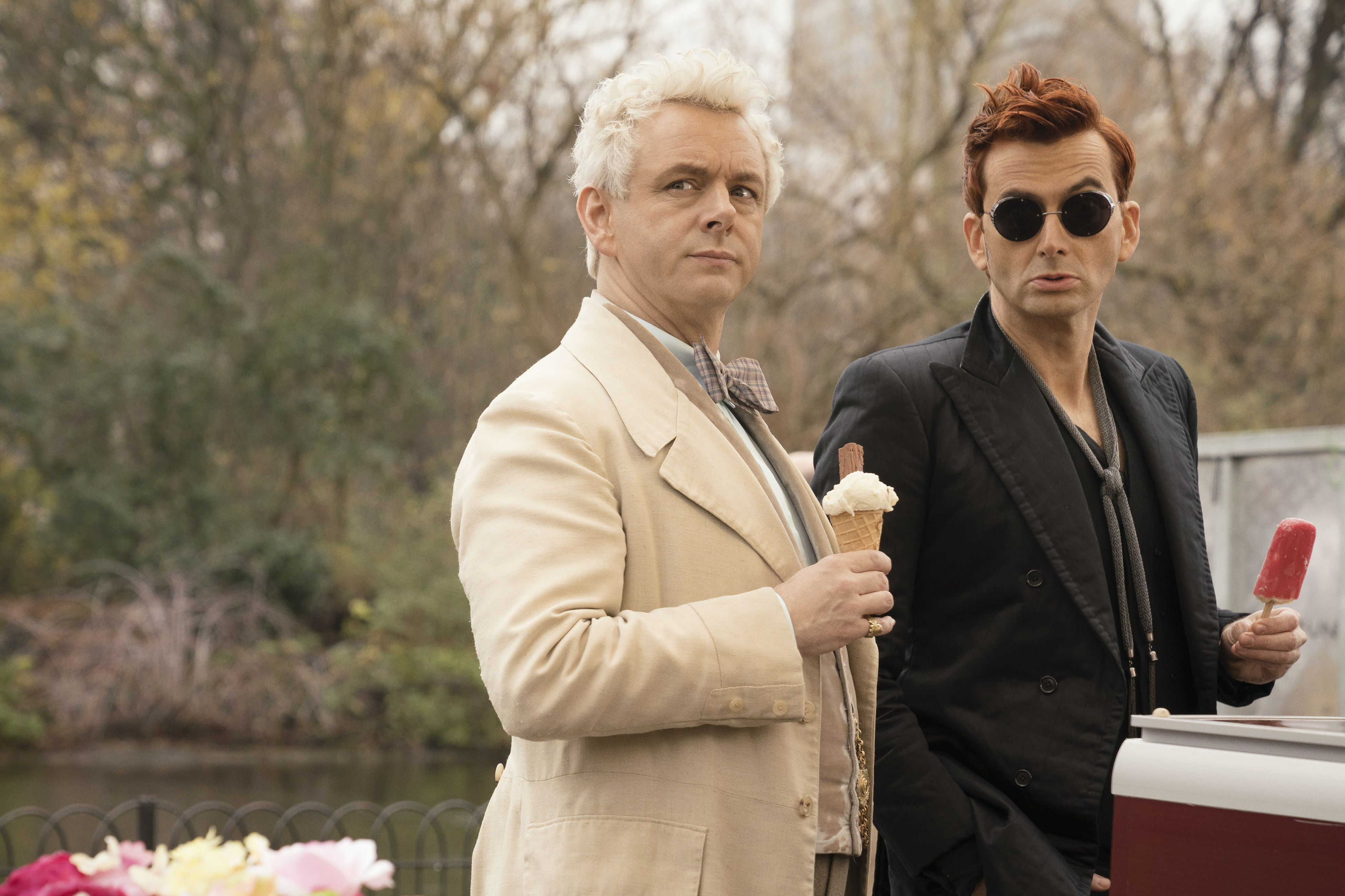 "Good Omens' Michael Sheen discusses ""difficulty"" of season 2"
