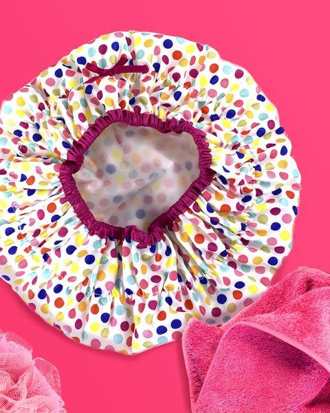 Pink, Doughnut, Flower, Plant, Petal, Fashion accessory, Hair accessory, Sprinkles,