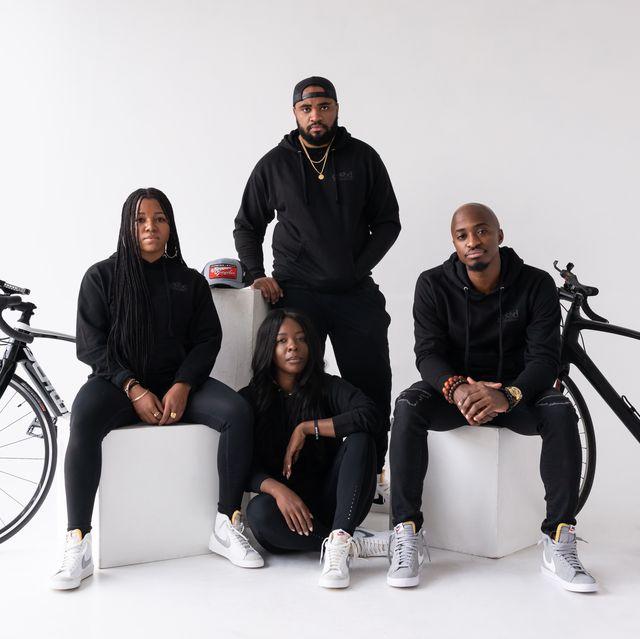 the four founders of good company bike club