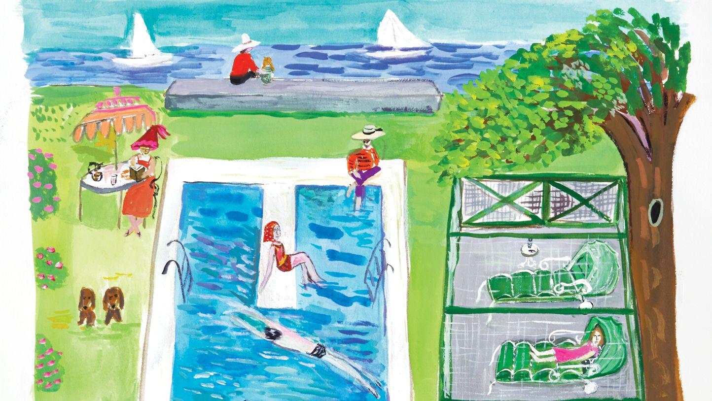 Averell Harriman's Legendary Long Island Home Sparked One Editor's Lifelong Love of Design