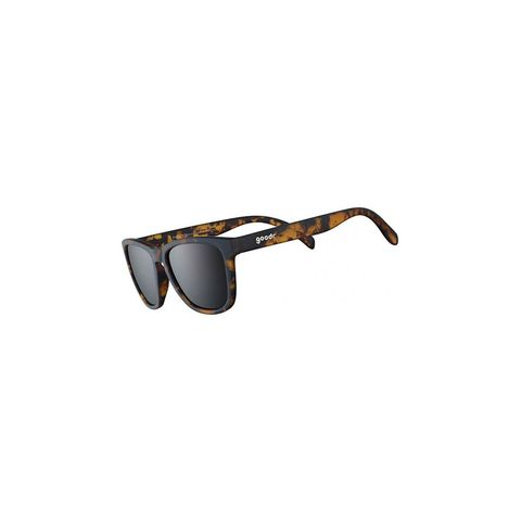 zonnebril hardlopen hardloopbril bruin goodr frame