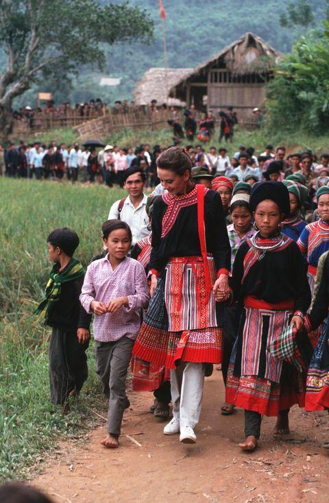 Audrey Hepburn in Vietnam