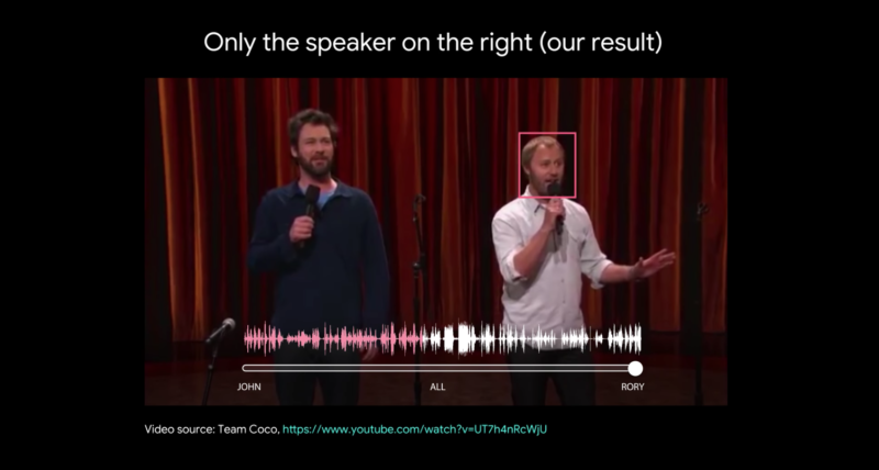 Google riesce ad ascoltare la tua voce nella folla